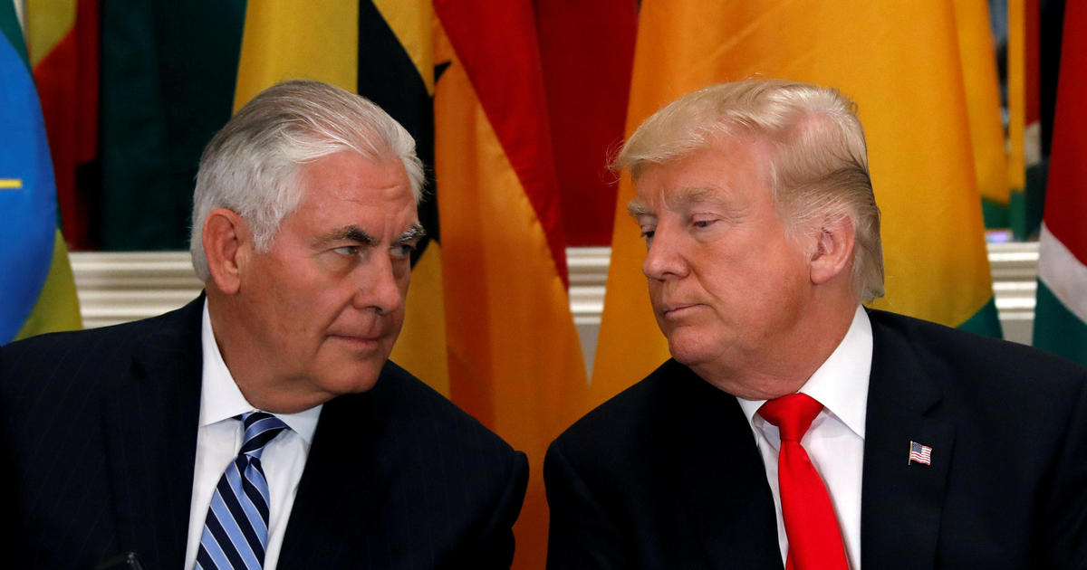 "Rex Tillerson reflects on firing, working for ""undisciplined"" Trump"
