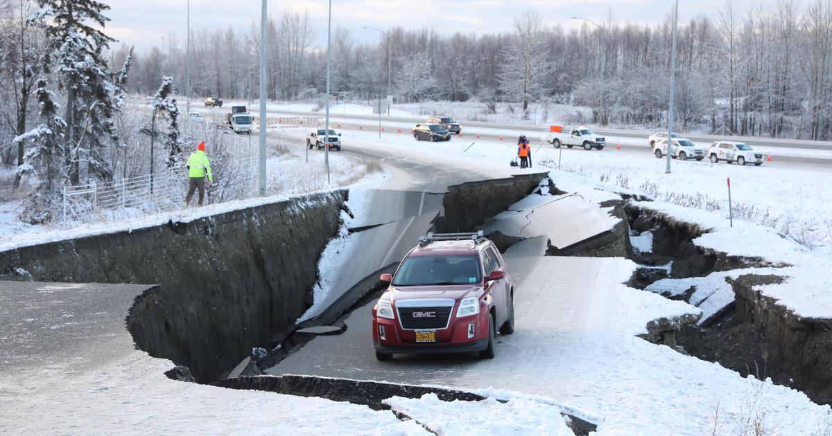 Alaska earthquake aftermath: Officials urge residents to avoid roads