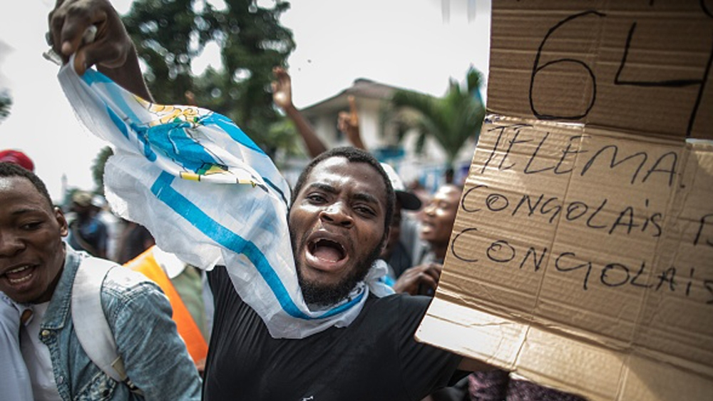 Opposition supporters reject delay to DRC elections