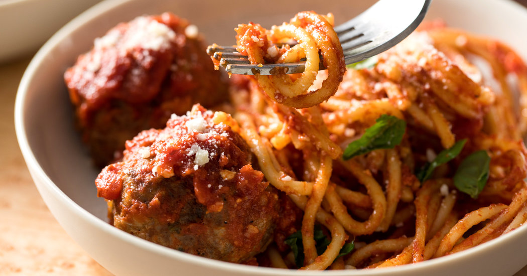 A New Way to Spaghetti and Meatballs