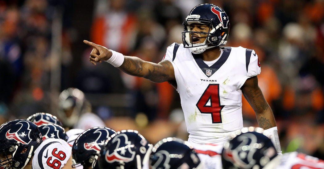 The Knee's Better. Deshaun Watson's Better. And the Texans Are Better.