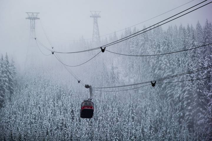 Wet snow, rain moving across Metro Vancouver, Fraser Valley on Friday