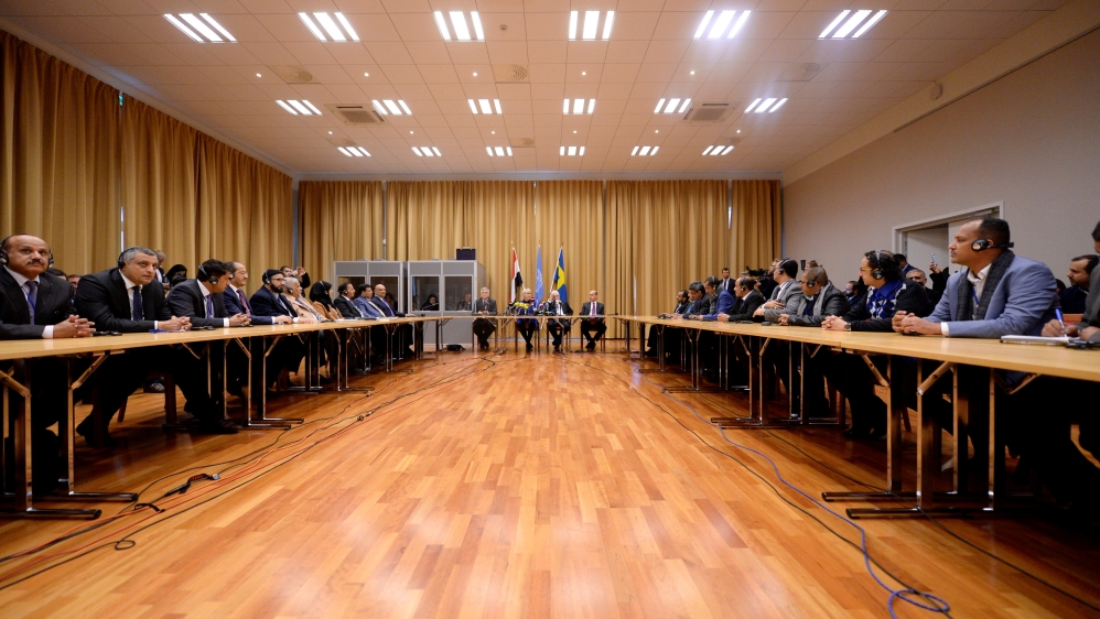 Yemen's warring sides meet face-to-face at Sweden peace talks