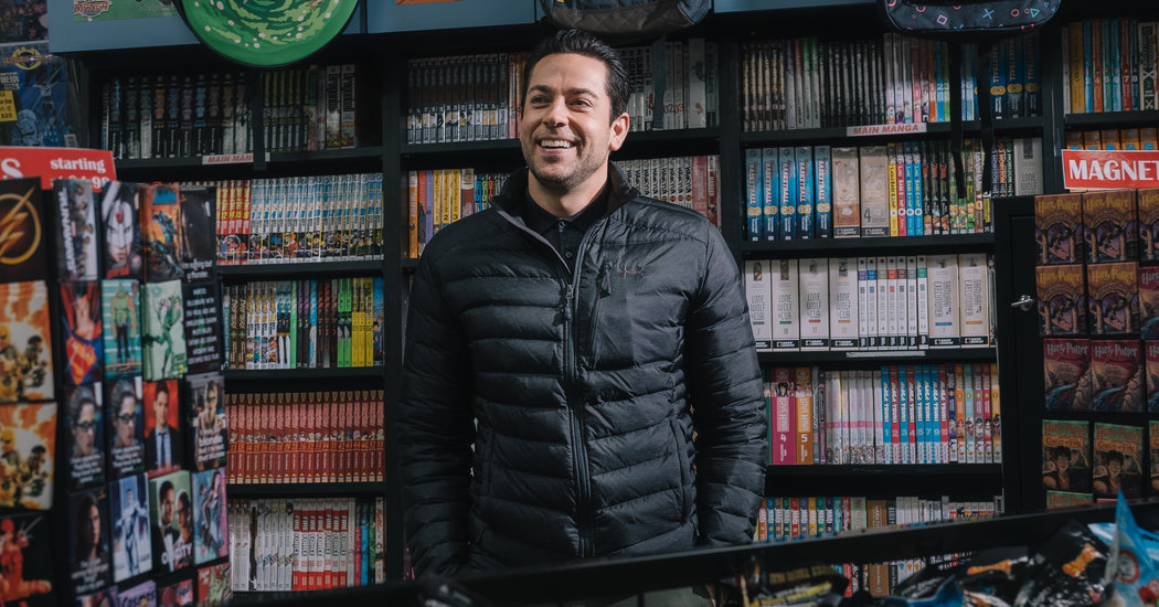 Zachary Levi of 'The Marvelous Mrs. Maisel' Embraces His Inner Geek