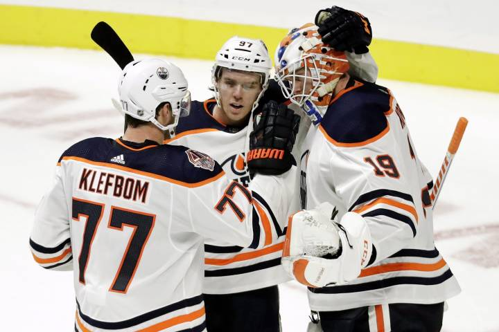 Edmonton Oilers' Klefbom placed on injured reserve; Cagguila activated