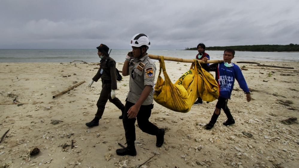 Indonesia tsunami: Rescuers use drones as dozens still missing