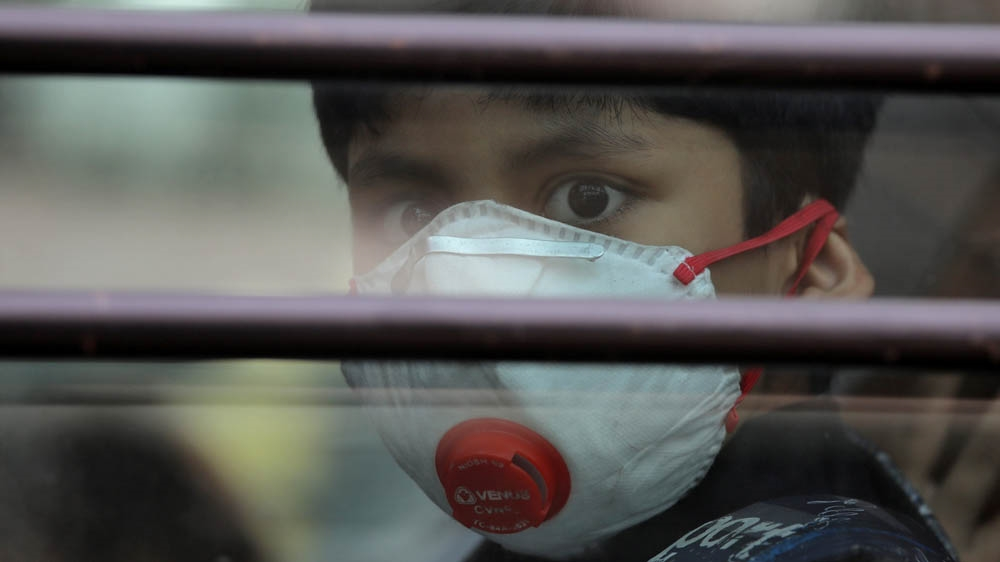India's polluted air killed 1.24 million in 2017: study