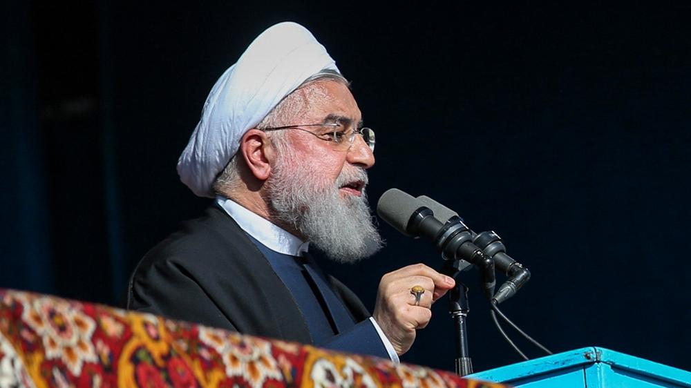 Iran's Rouhani denounces US sanctions as 'economic terrorism'