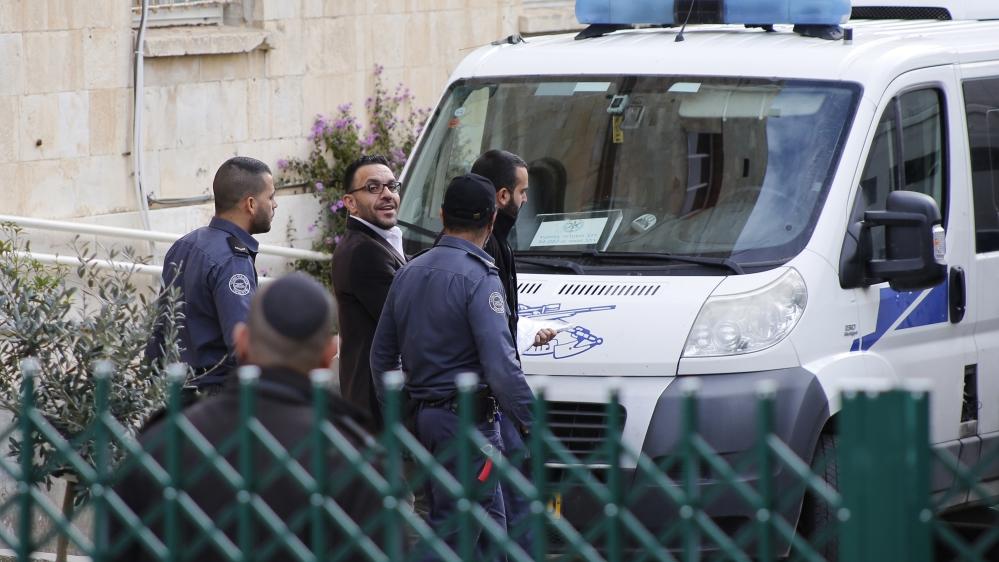 Palestinian governor of Jerusalem released to house arrest