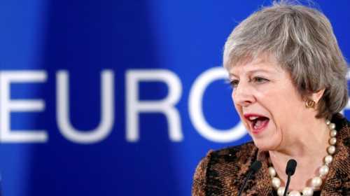 British PM Theresa May slams Tony Blair over anti-Brexit moves