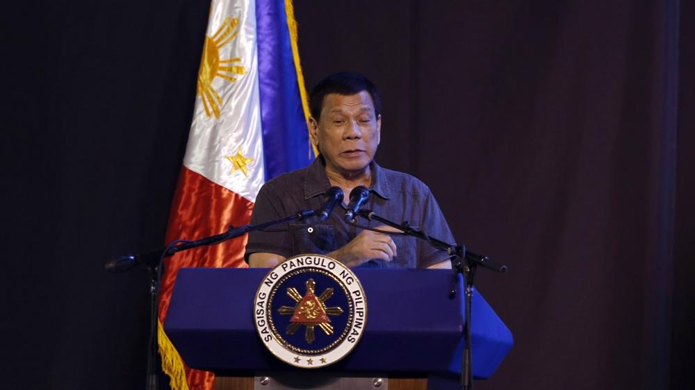 Philippine President Rodrigo Duterte 'jokes' about cannabis use