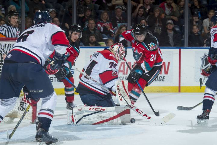 Rockets' offence blown away by Hurricane of goals