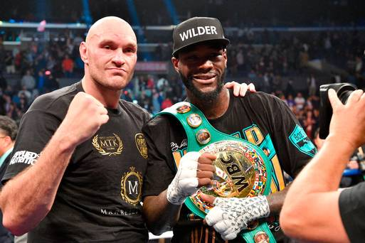 In Pictures: Tyson Fury denied comeback victory in Deontay Wilder draw