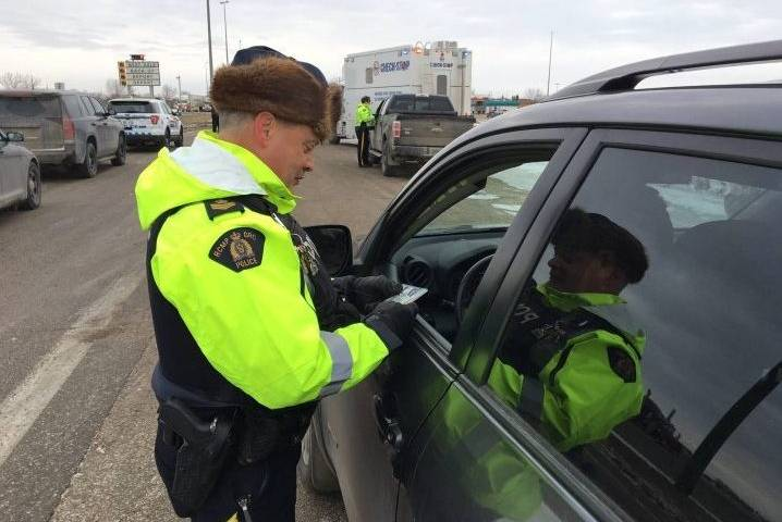 Steinbach driver busted for identity fraud during holiday checkstop