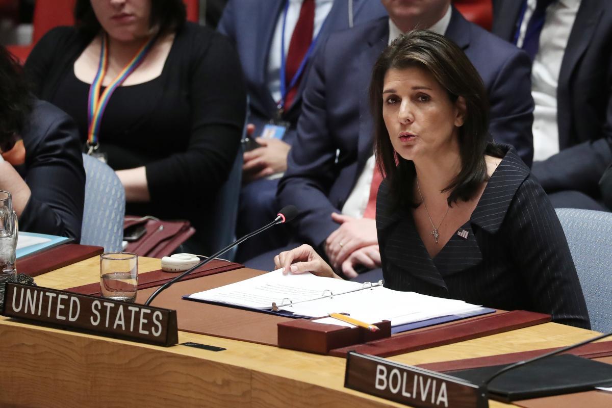 U.S. Middle East peace plan to take advantage of technology: Haley