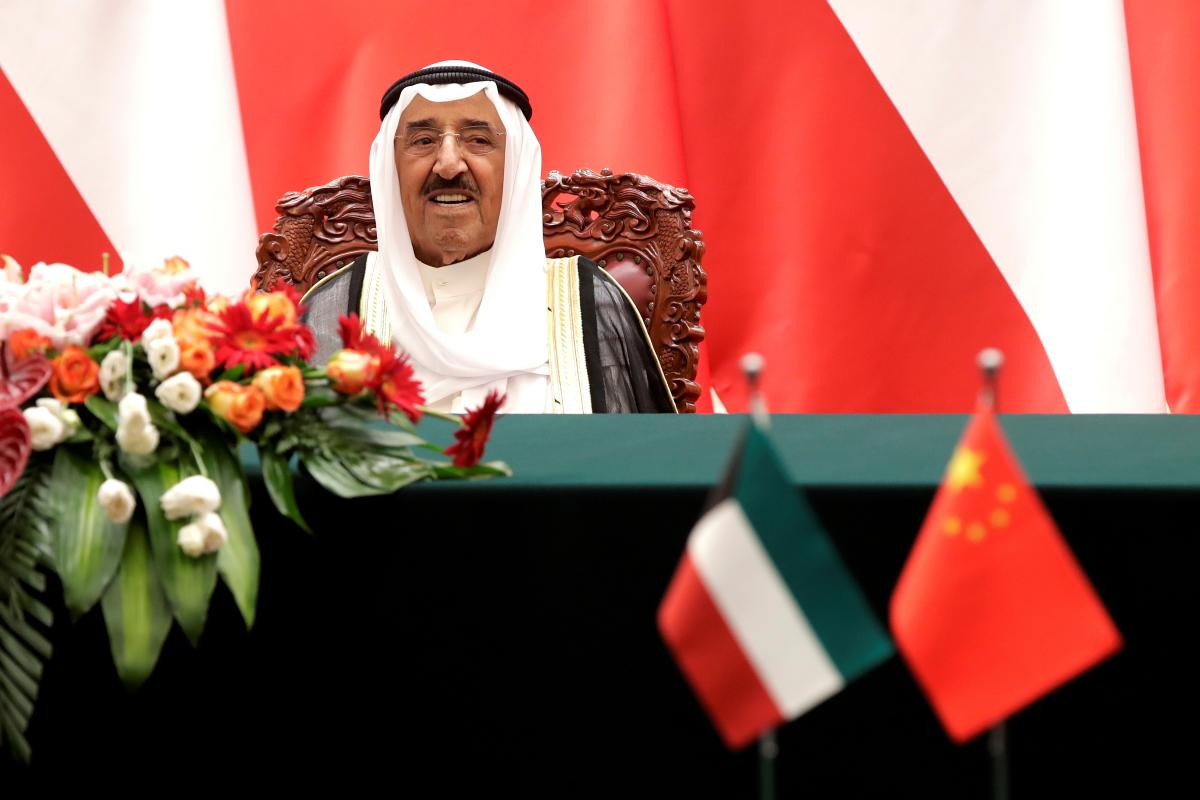Kuwait's emir calls for end to media campaigns in Gulf region