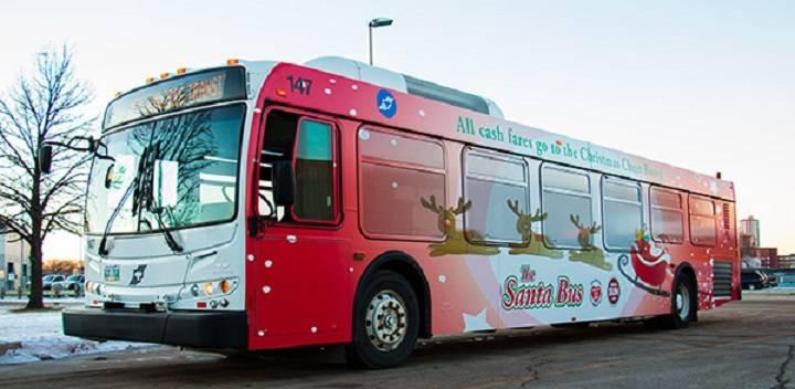Ho, Ho, hop on: Winnipeg Transit Santa Bus begins seasonal run