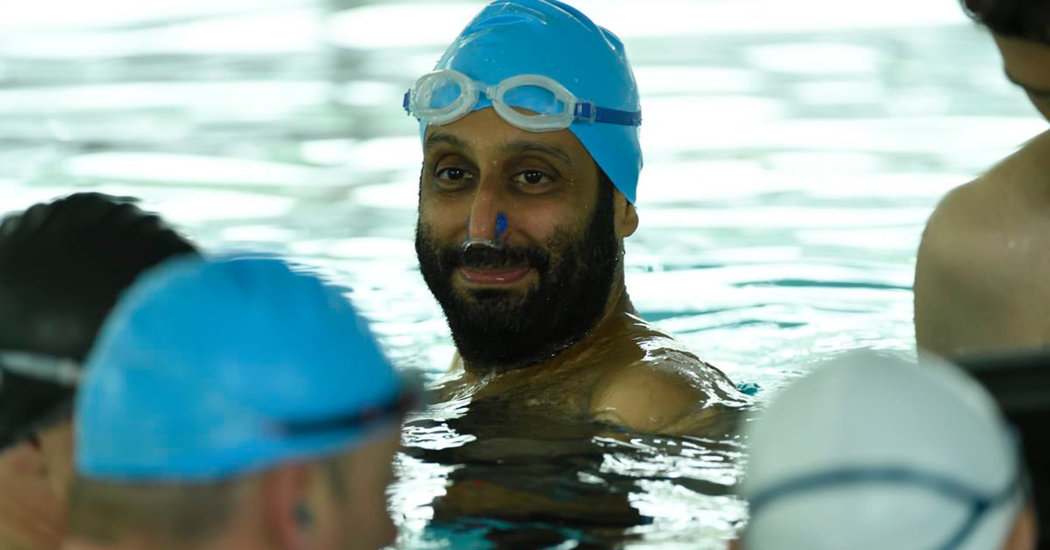 'Swimming With Men' Review: An Amiable Look at Aging Bodies