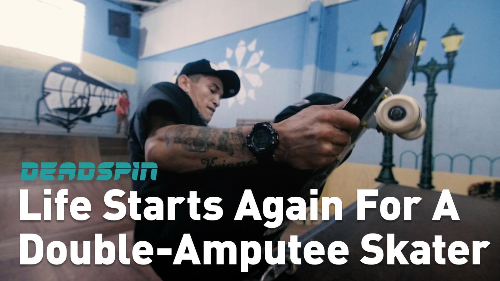 Skateboarding Gave Double-Amputee Felipe Nunes His Life Back