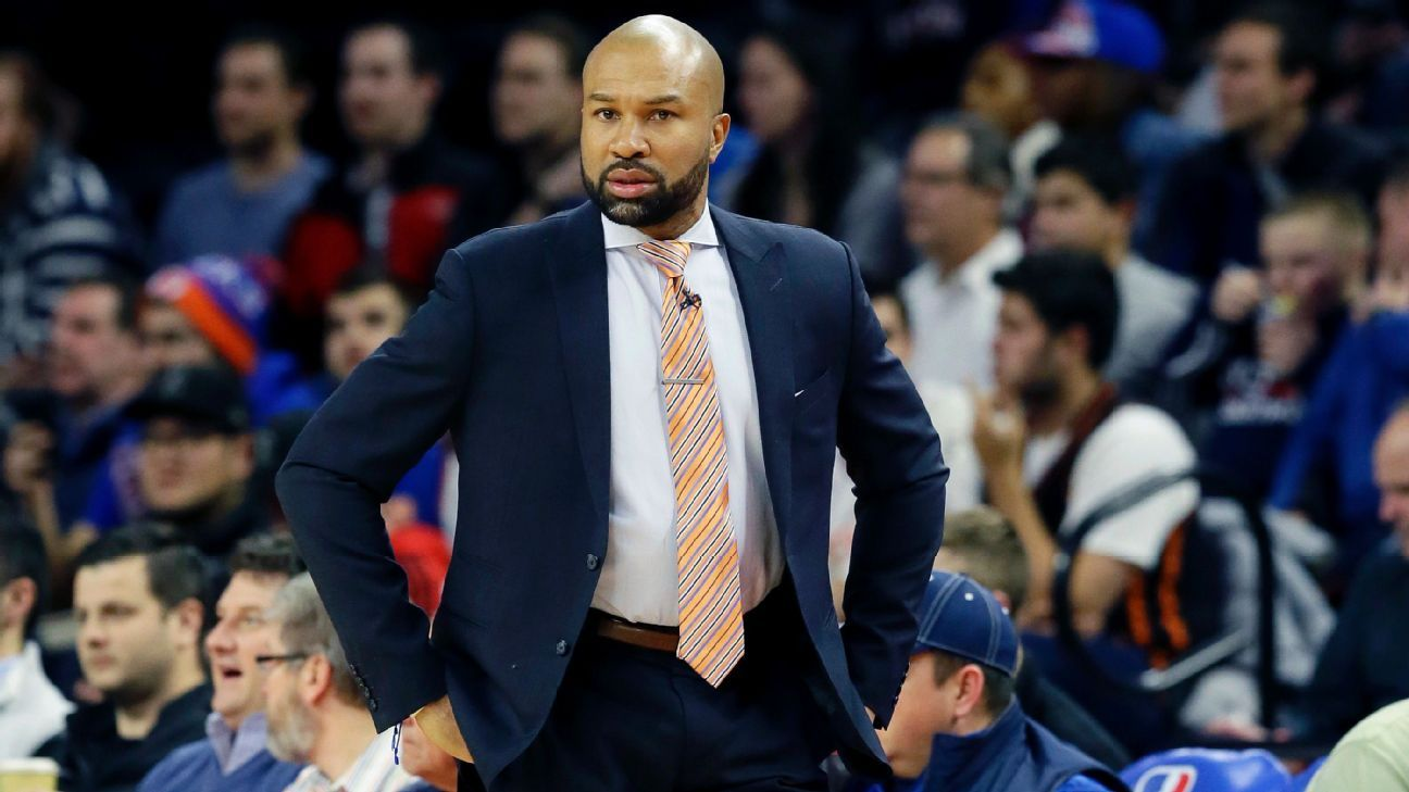 Sources: Sparks hire Derek Fisher as head coach