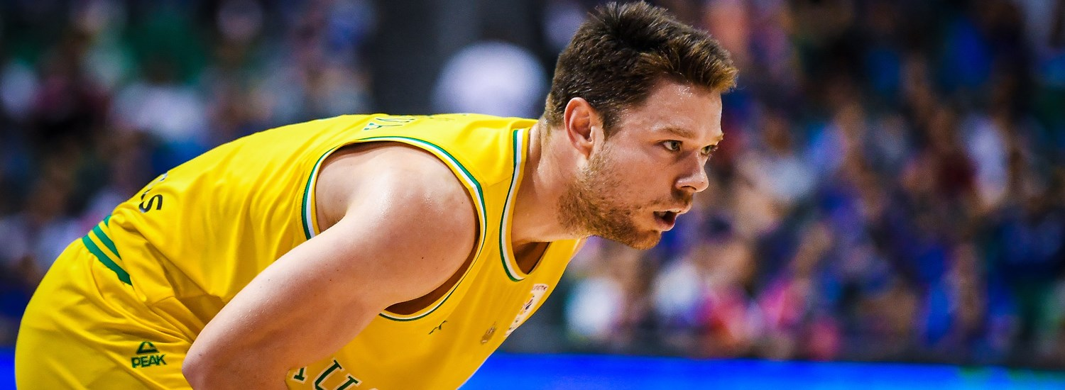 """Australia's Matthew Dellavedova: """"We're excited to show what we can do on the world stage"""""""