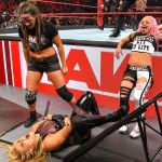 WATCH: Natalya put through table on WWE Monday Night Raw!