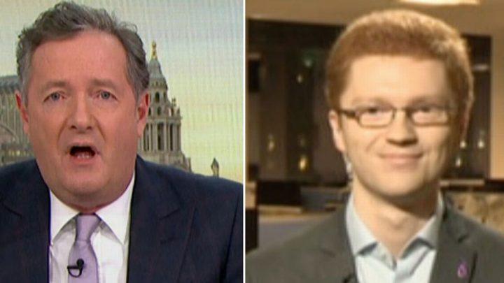 Piers Morgan called 'honey-glazed gammon' in row over 'racist' Winston Churchill