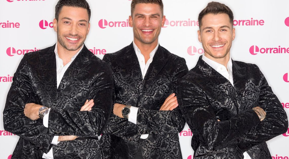 Male Strictly professionals set to raise temperatures after announcing tour