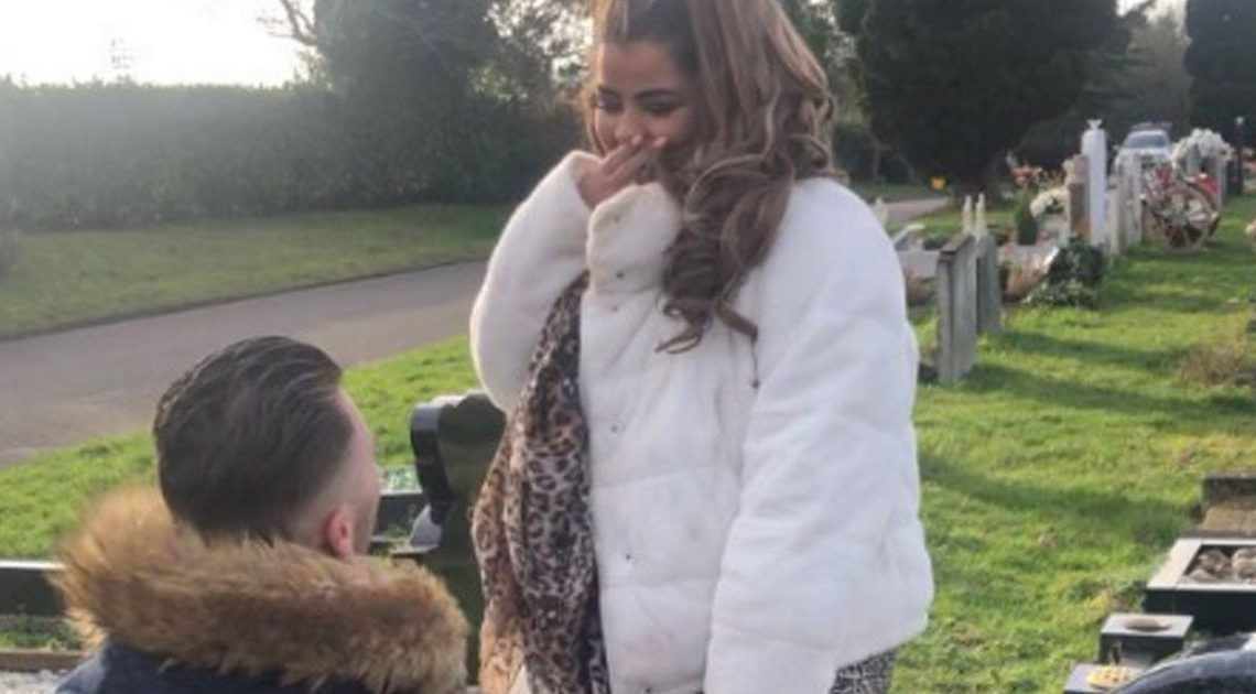 X Factor's Scarlett Lee gets engaged in graveyard for heartbreaking reason
