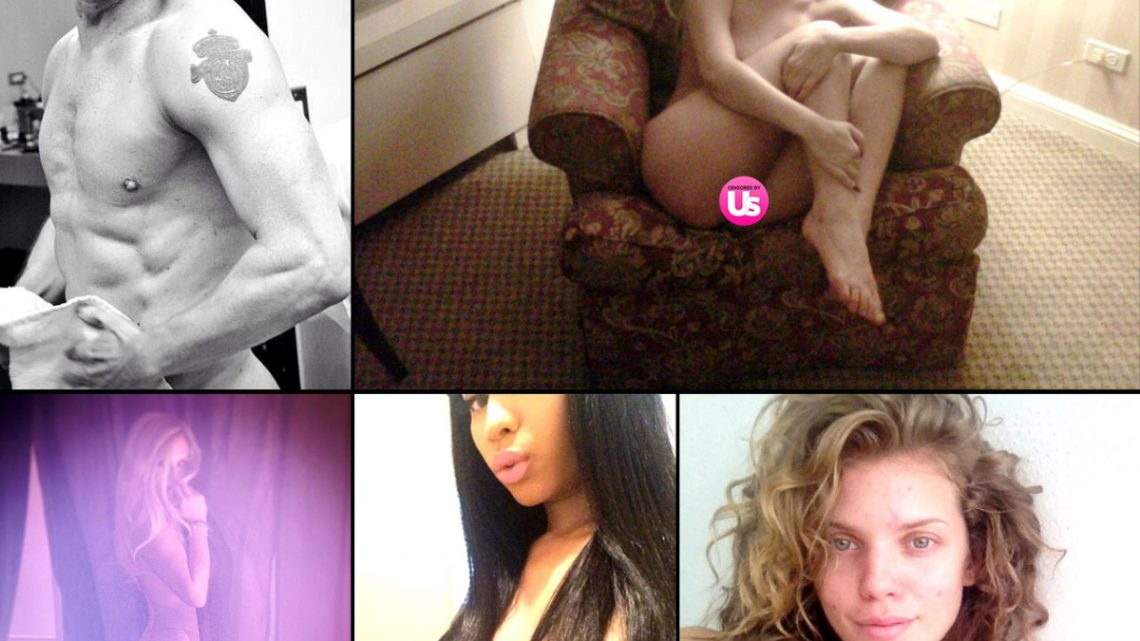 Stars Go Nude on Twitter and Instagram
