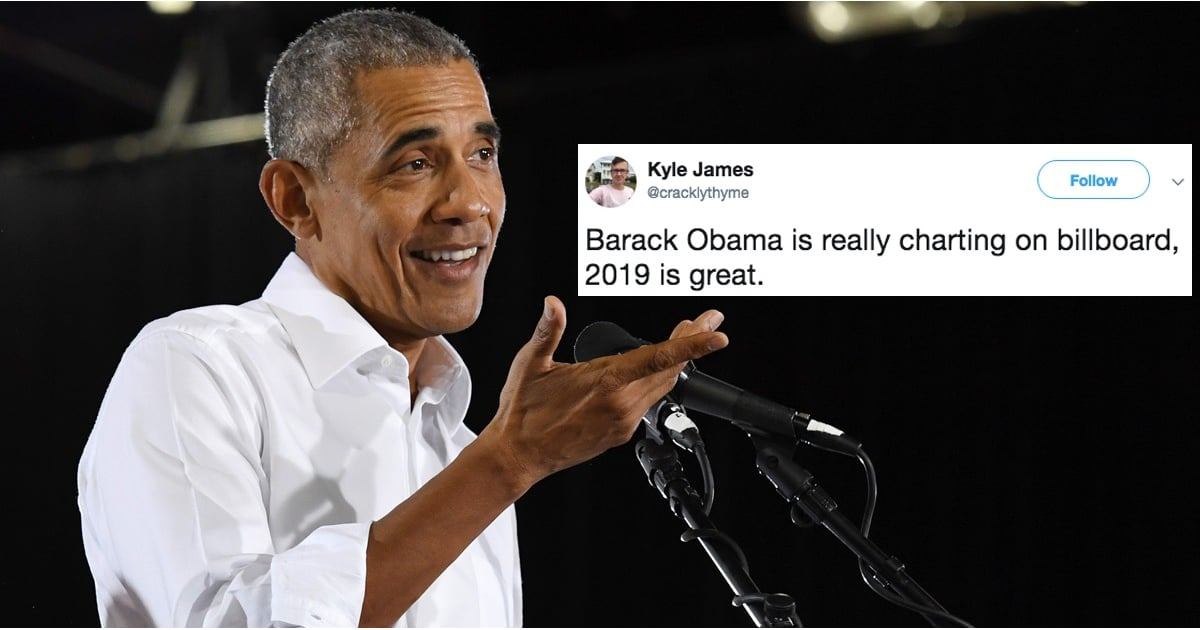 """As If """"Former President"""" Wasn't Enough, Obama Can Now Add """"Billboard Chart-Maker"""" to His Résumé"""