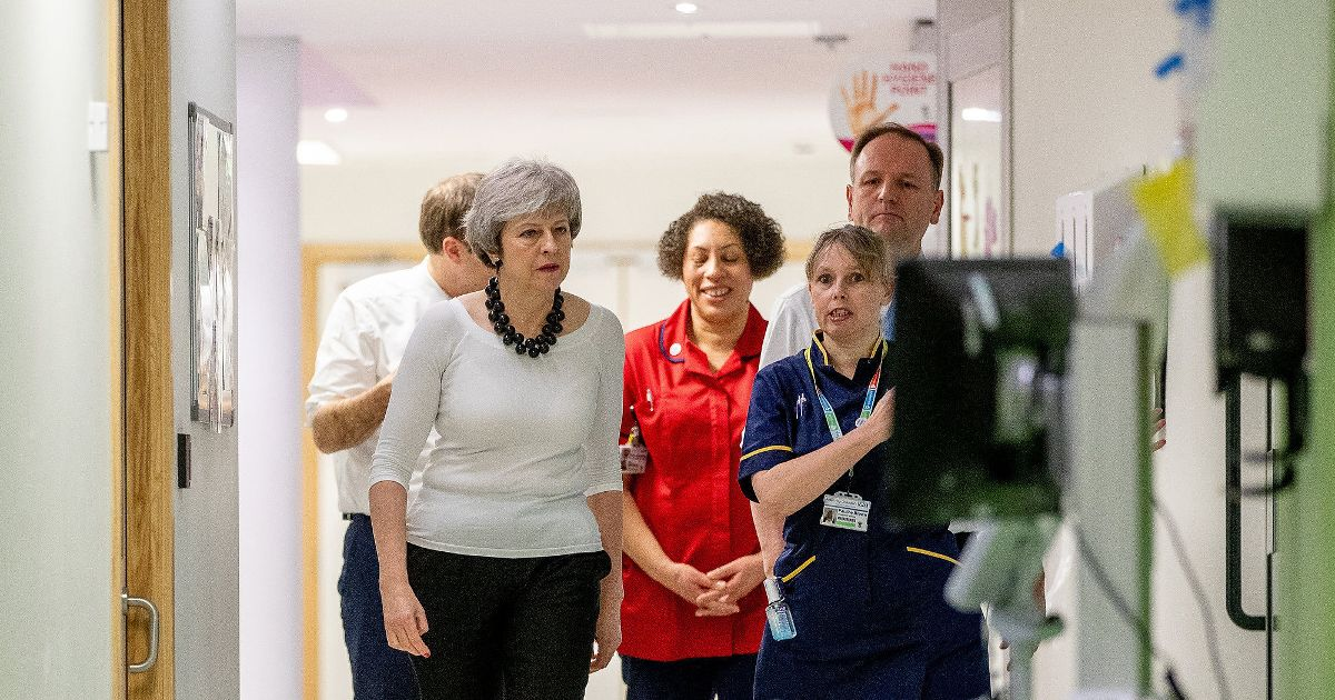 Theresa May told £20bn NHS plan is doomed to failure unless staff crisis solved