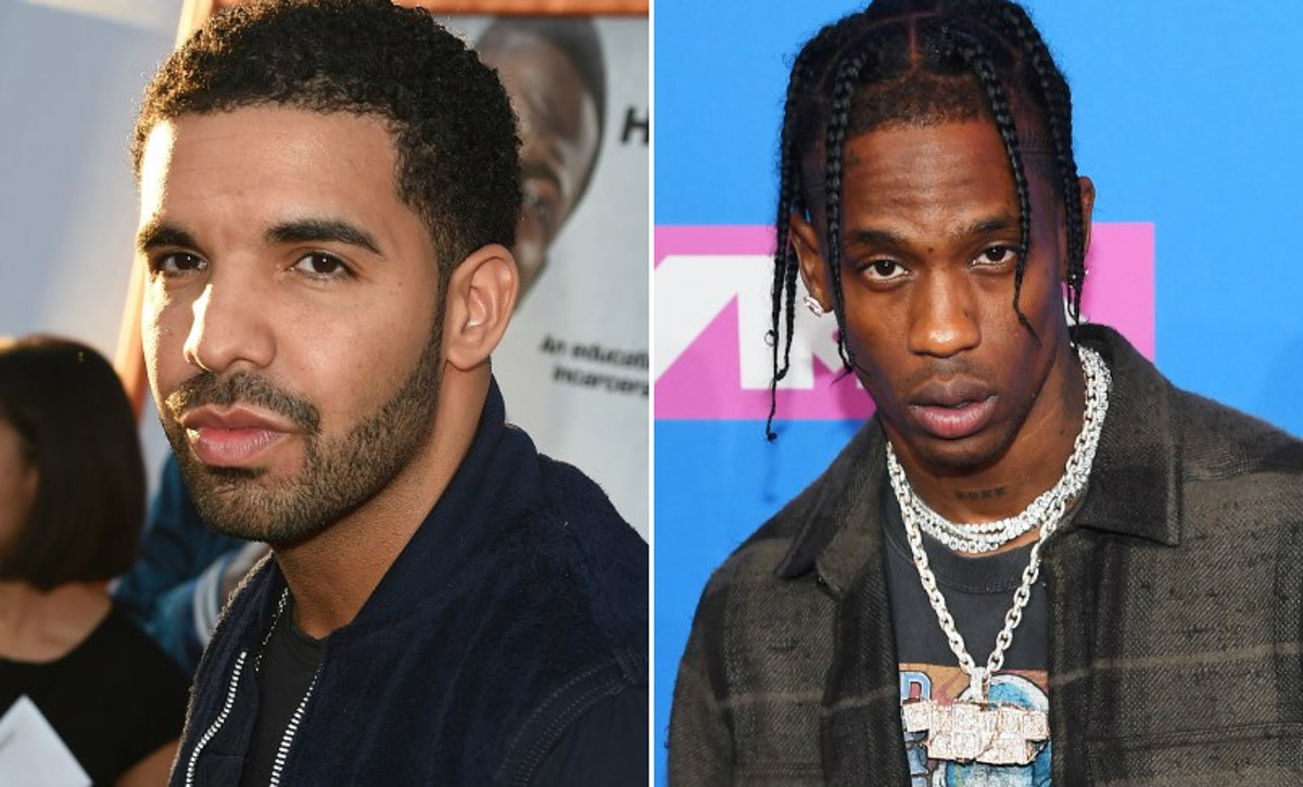 Are Drake & Travis Scott Friends? Here's Where The Rappers' Relationship Stands