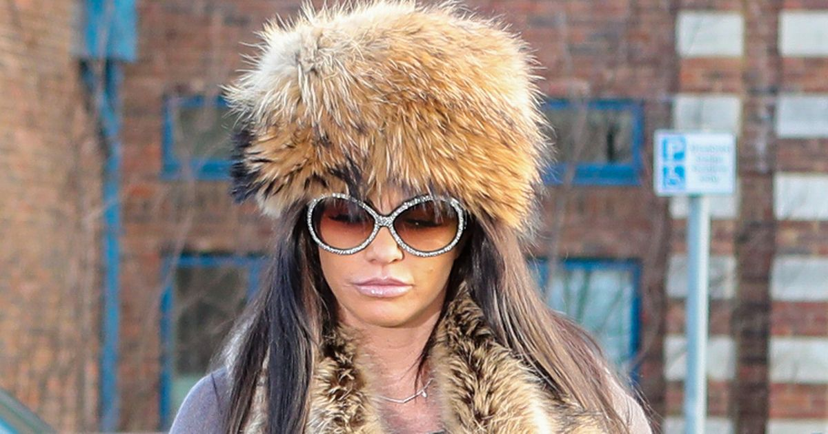 Katie Price under fire as fans accuse her of wearing real fur to court