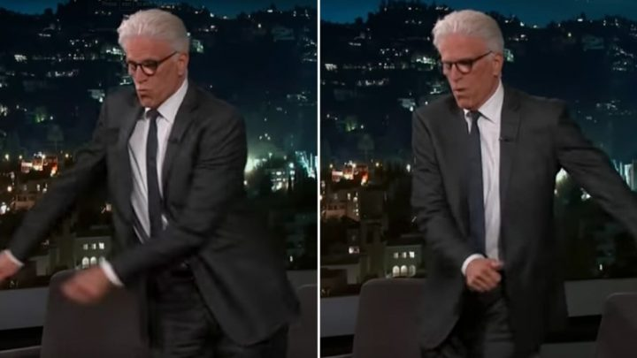 Ted Danson's Floss Dance Has Improved Astronomically Since He First Learned It