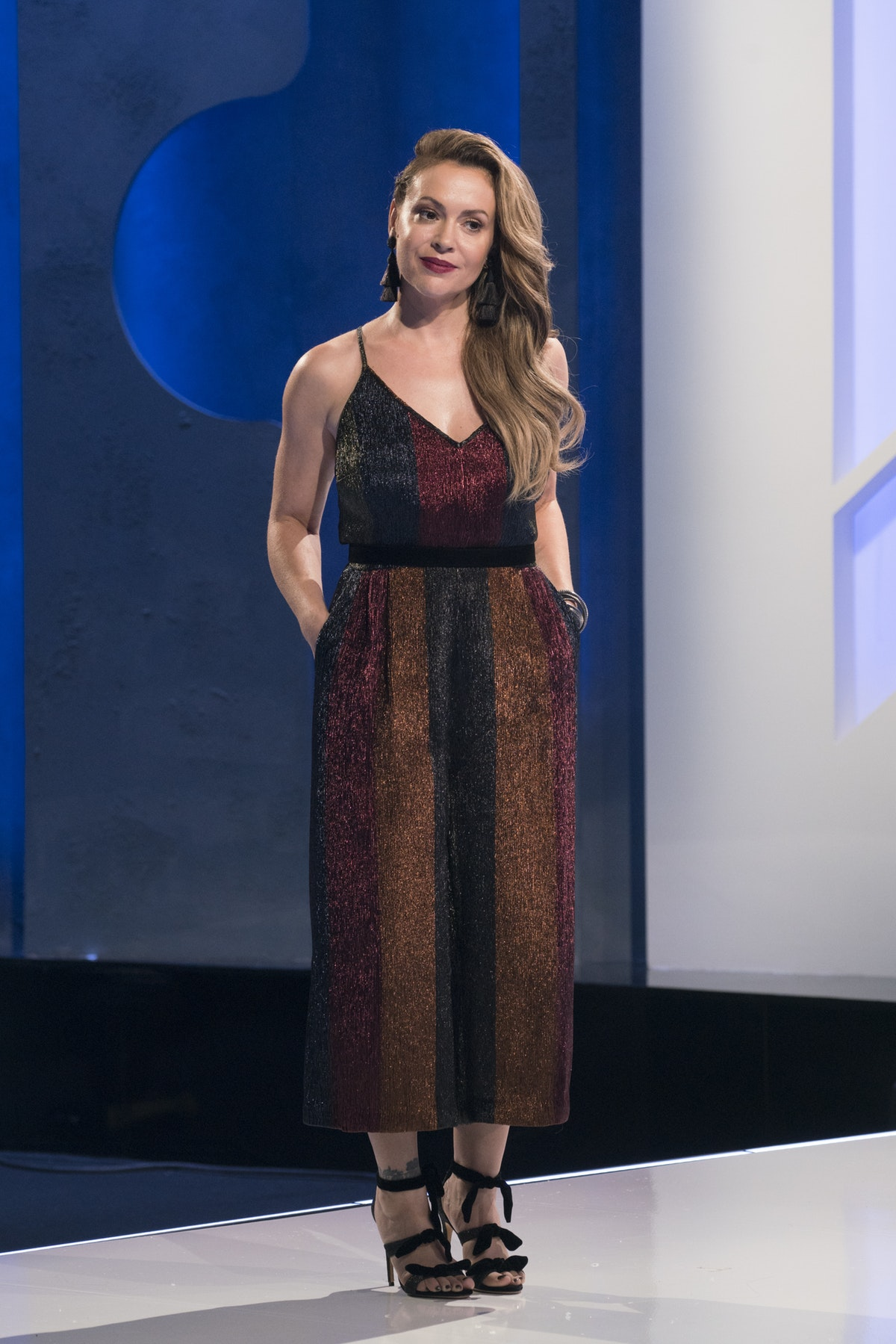 The 'Project Runway All Stars' Twists Are Just Getting Started, According To Alyssa Milano
