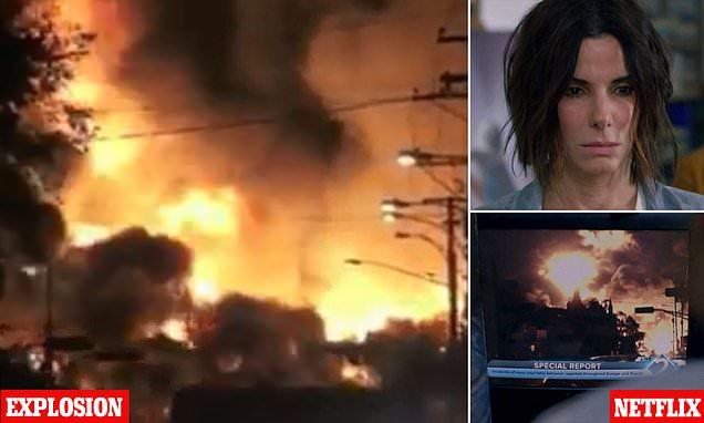 Netflix slammed for using footage of deadly train crash in Bird Box