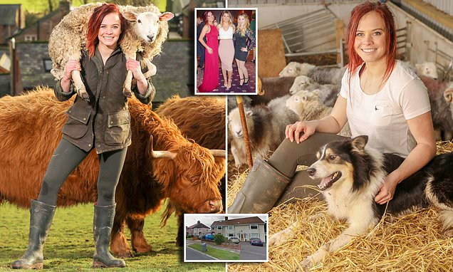 Star of SAS: Who Dares Wins gave up Scouser life to become shepherdess