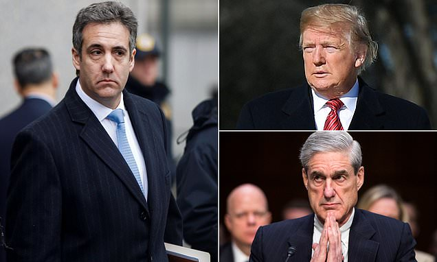 GOP lawmakers: Michael Cohen won't talk Trump Tower Moscow or Mueller