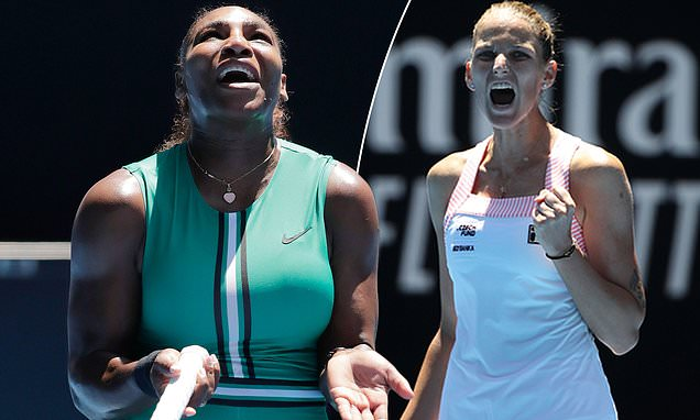 Serena Williams crashes out of the Australian Open