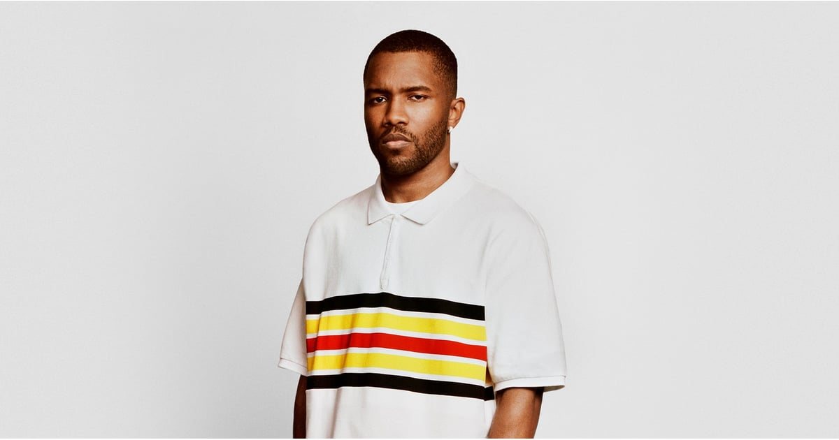 Frank Ocean Shared His Skincare Secrets, and Honestly, Everyone Should Take Note