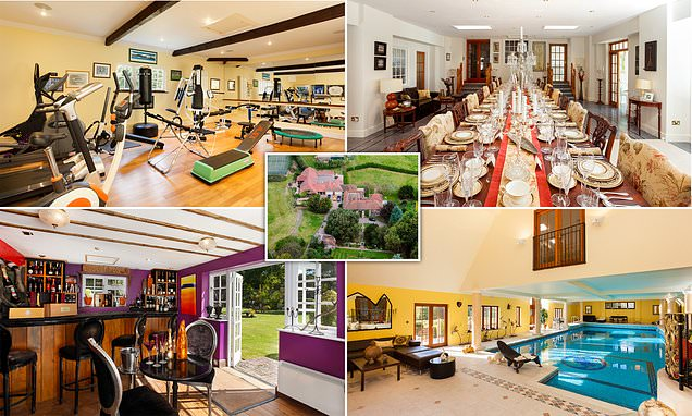 £4.5m mansion mentioned in Domesday Book comes with own swimming pool
