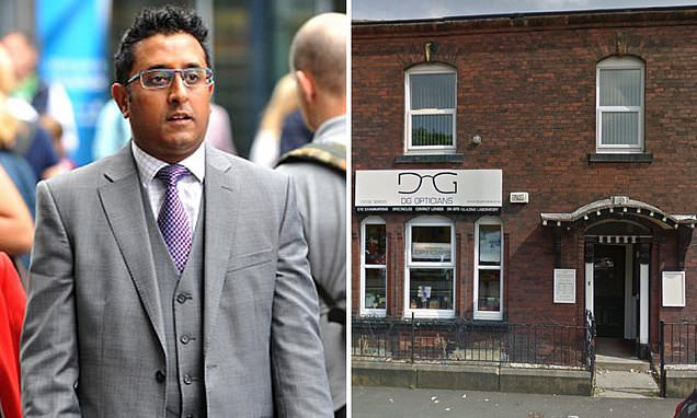 Ophthalmologist, 46, who groped a woman is suspended for nine months