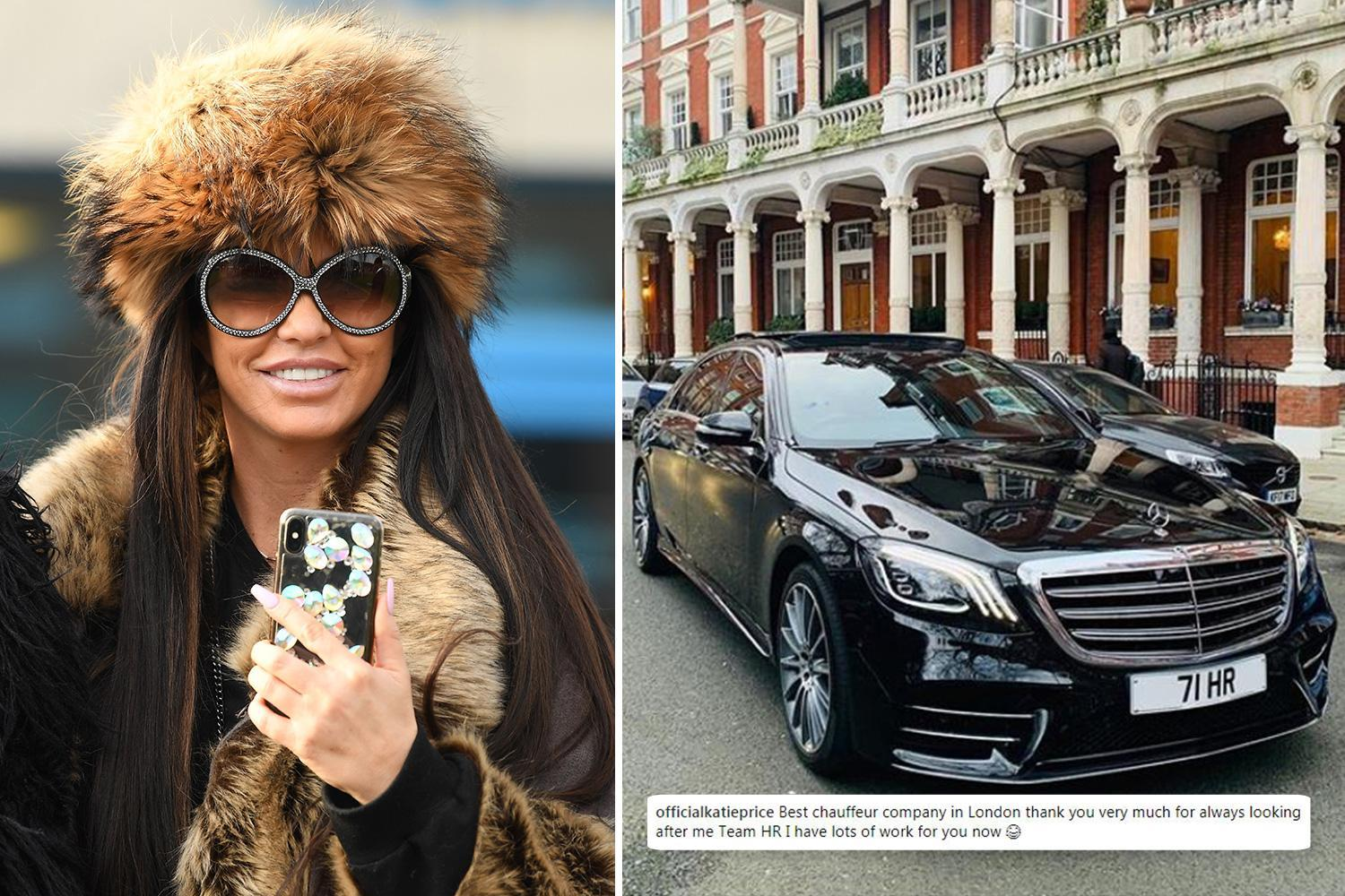 Katie Price blasted by fans for 'glorifying' her second driving ban after making joke