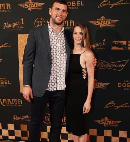 Who is Andrew Luck's Girlfriend, Nicole Pechanec?