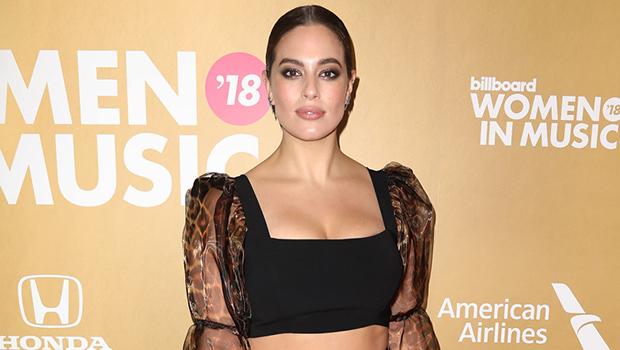 Ashley Graham, Khloe Kardashian & More Celebs Rocking Long-Sleeved Crop Tops For Winter