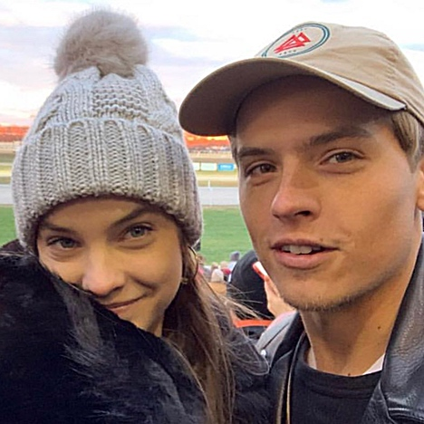 Rumors of an Engagement Spread as Dylan Sprouse and Barbara Palvin Spend First Week of New Year in Budapest