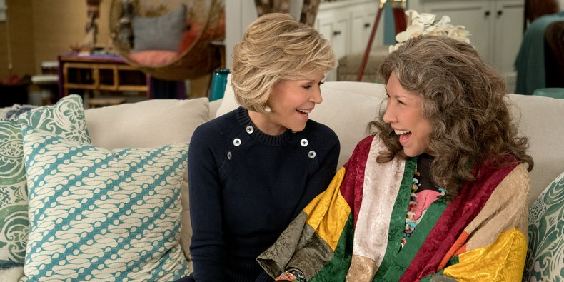 Grace and Frankie Trailer Gives 100% More RuPaul, Nicole Richie, & F-Bombs