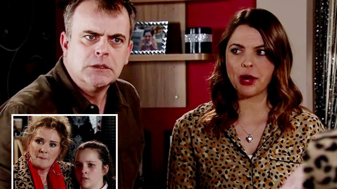Coronation Street spoilers: Steve McDonald explodes after discovering daughter Amy Barlow, 14, is pregnant