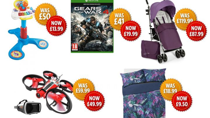 Argos is having a HUGE clearance sale on toys, homeware and technology
